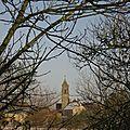 L'église sous la neige janvier 2010