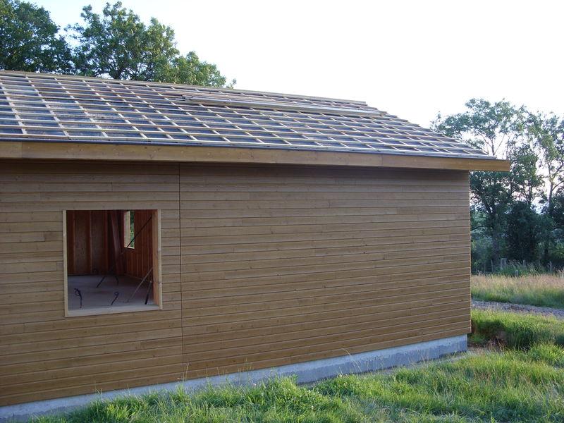 Pare pluie litelage et contre litelage notre cabane en bois for Litelage et contre litelage