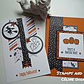 Kit cltm d'octobre : cartes theme halloween
