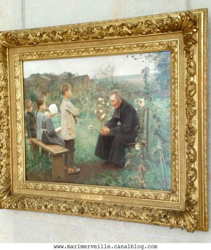 La leçon de catéchisme - Jules-Alexis Muenier -Musee d'Orsay - Marimerveille