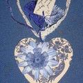 Coeur bleu pour