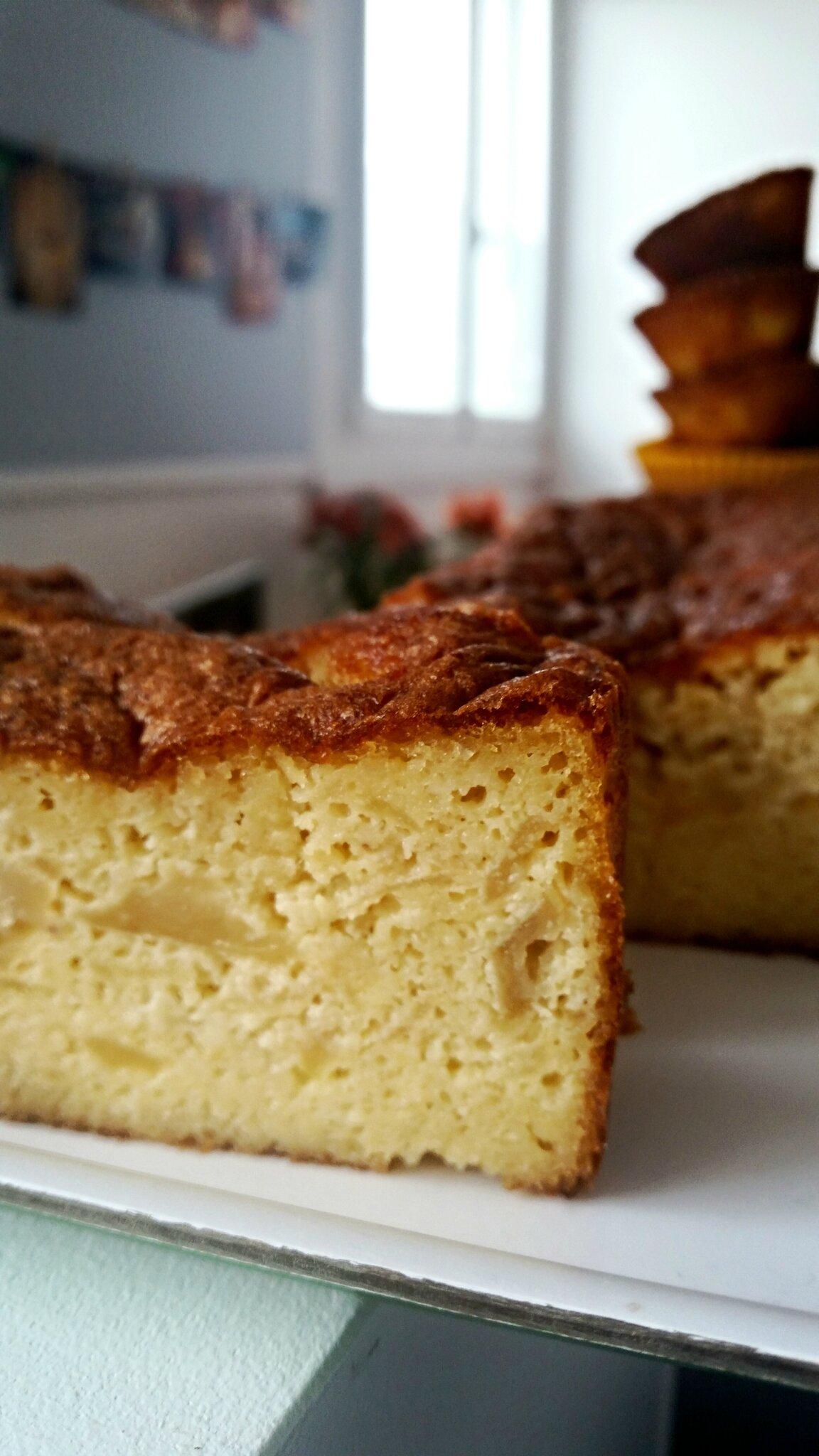 Gâteau aux amandes à la pomme