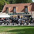 Rallye motos - Point de contrôle à Nieurlet