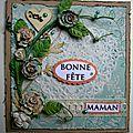 Une carte pour souhaiter une bonne fete à toutes les mamans