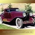 1926 - Isotta fraschini Tipo 8A Lebarron Boatail Roadster