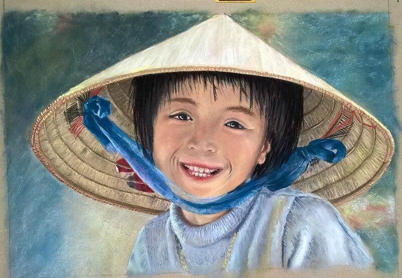 enfant du monde vietnam non encadrée