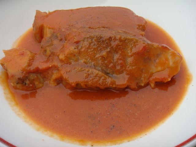 rouelle de porc caramelisee - la cuisine à sassenay