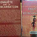 Enquête sur la réincarnation, livre collectif