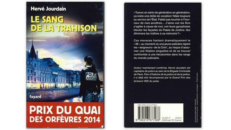 Hervé Jourdain Le sang de la trahison