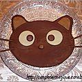 gâteau chococat