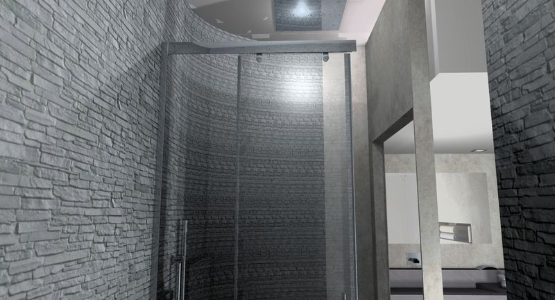awesome beton cire salle de bain carrelage 2 ideas - design trends ... - Beton Cire Sur Carrelage Salle De Bain