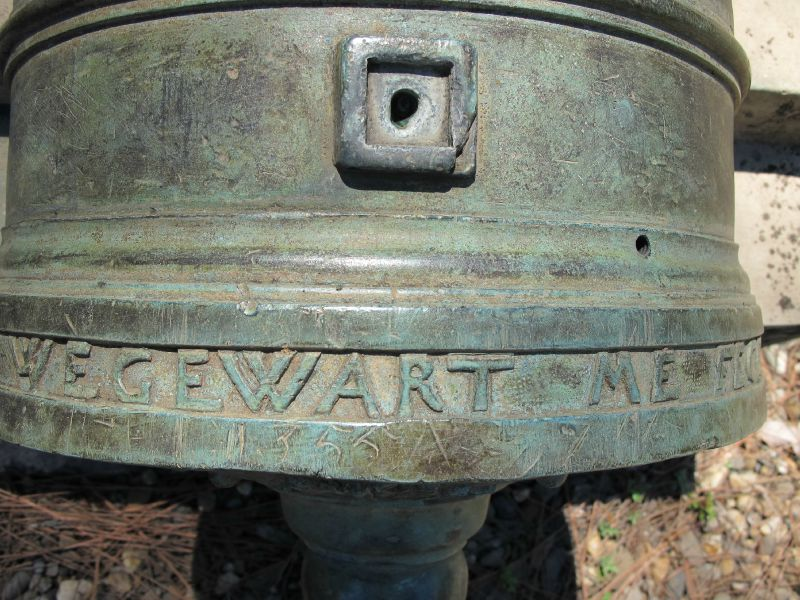 2. Inscription sur le canon hollandais de Kylianus Wegewart Camp