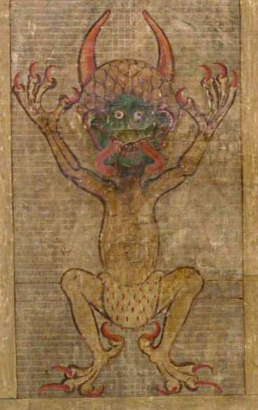Podlazice- Codex_Gigas_devil