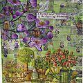 Art journal prompt - 47 - napkins
