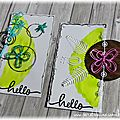 Scrap & co inspiration de mai et cartes jumelles...