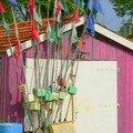 Cabane de pêcheurs à Oléron