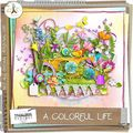 A colorful life, le freebie du lundi @ dc