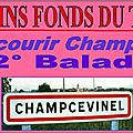 12° balade a champcevinel