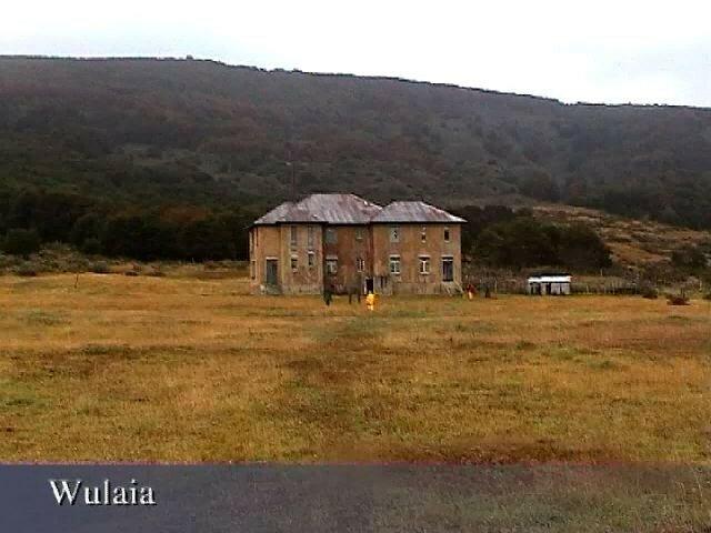 Baie de Wulaia, maison abandonnée