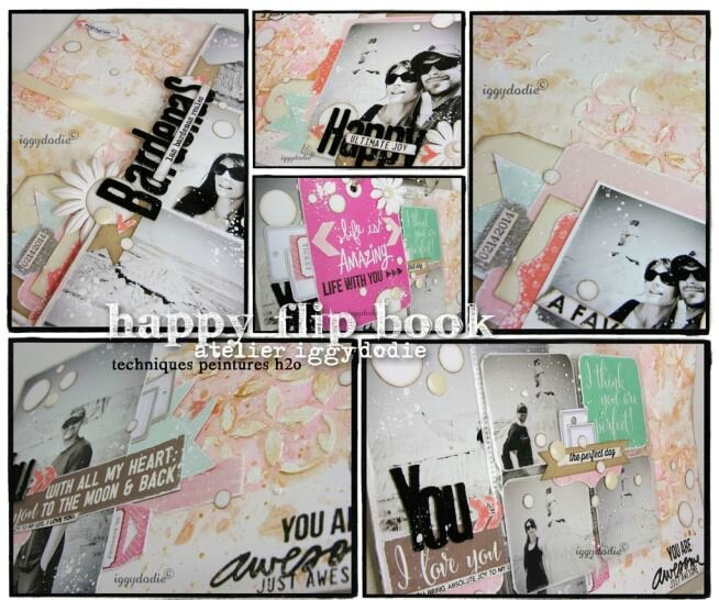 visuel iggydodie happy flip book