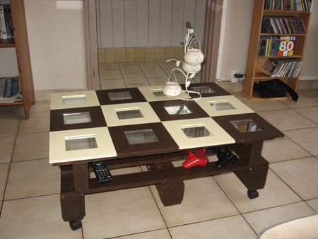 Ma table basse les cr as de dotie - Table basse faite maison ...