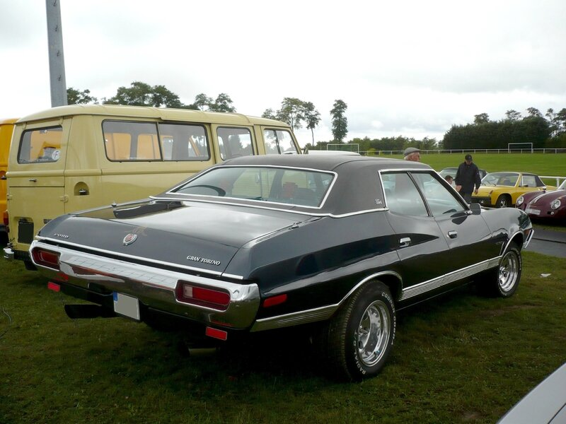 FORD Gran Torino 4door Sedan 1972 Créhange (2)