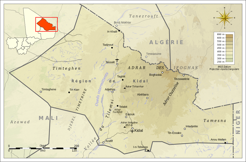 Kidal_topographic_map-fr