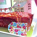 Cake fraises Tagada Au pays des Cactus