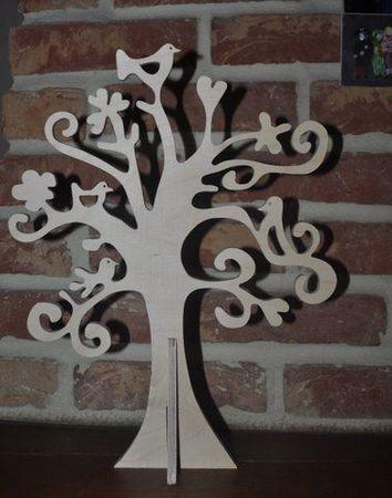 arbre bijou oiseau