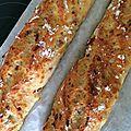 Baguette magique lardons et nature