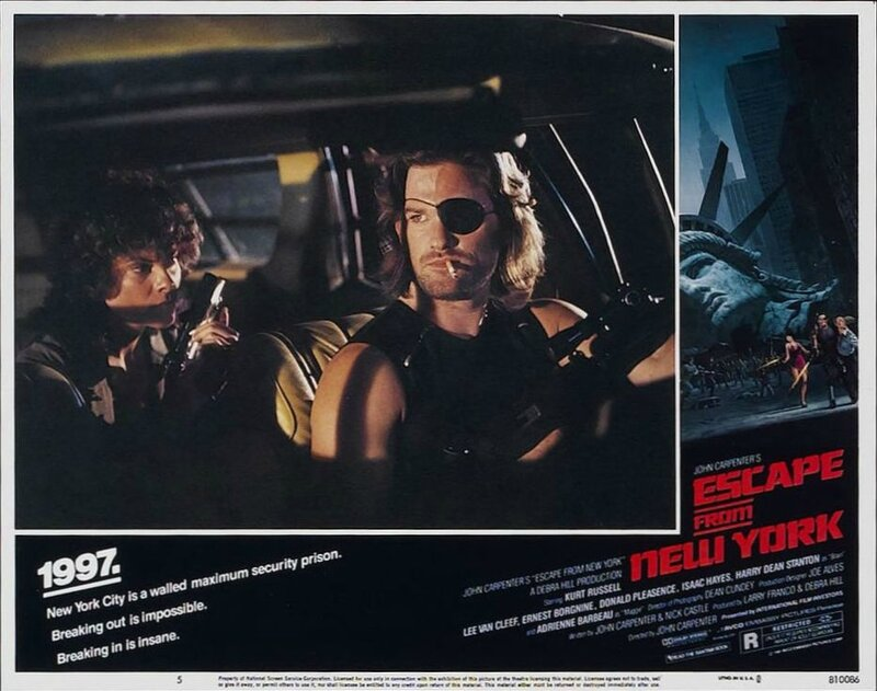 Escape from New York lobby card 3
