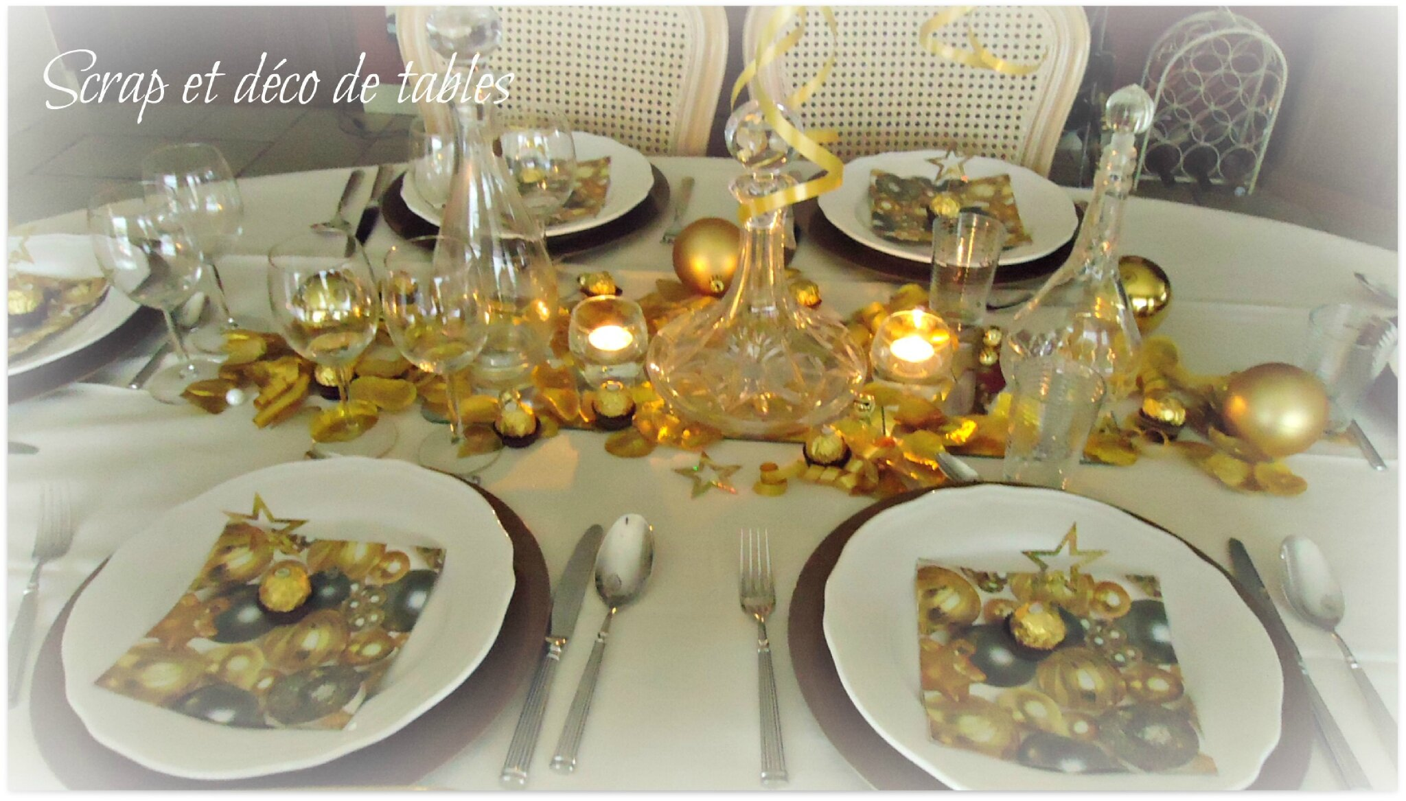 Deco table nouvel an - Deco reveillon nouvel an ...