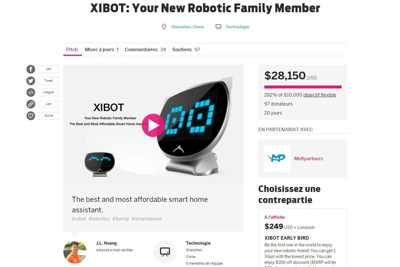 Xibot_Indiegogo