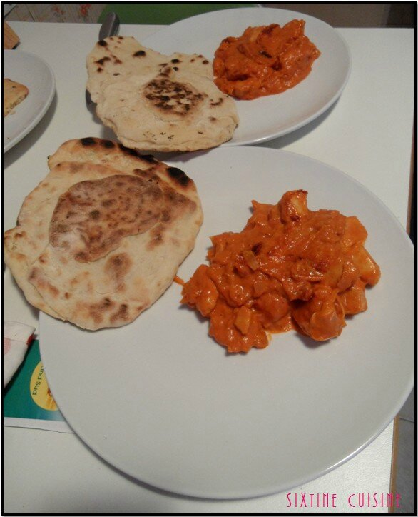 Naan poulet 1