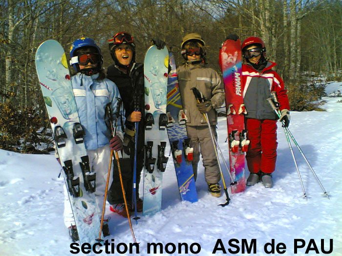 Section mono de Pau ASM