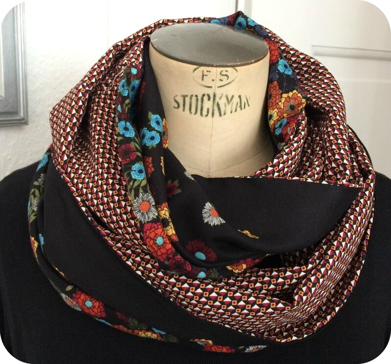 Snood été vintage graphic 8