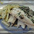 Filets de merlans a la ciboulette