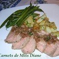 Rti de veau au vinaigre balsamique