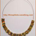 Bijoux pate fimo collier bracelet boucles d oreilles (103)