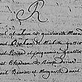 Bonnier Raoul & Danet Marguerite_mariage_Dinan St Sauveur Cotes d'Armor_Table