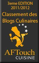 blogsculinaires2012 concours aftouch