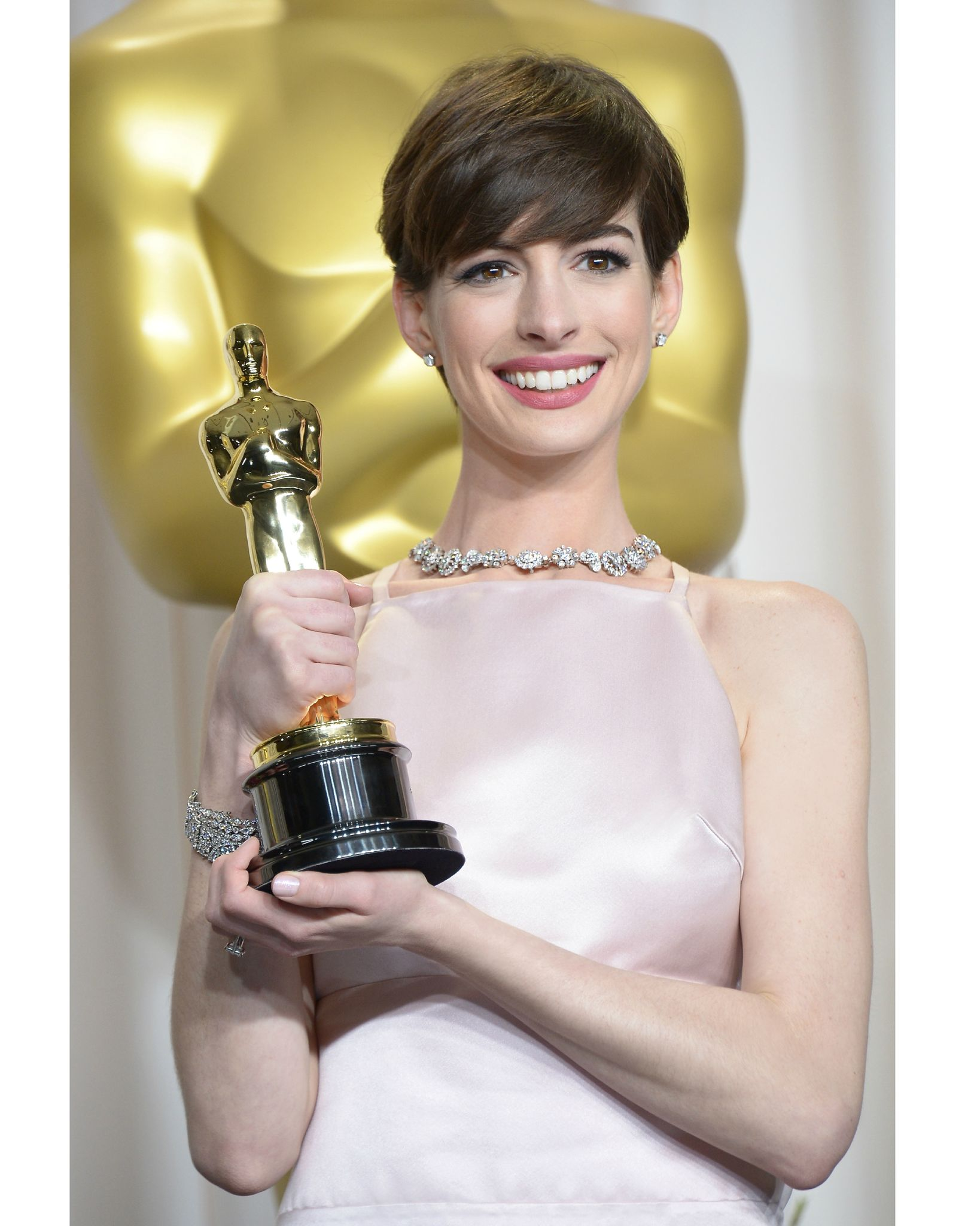 Anne Hathaway en Tiffany & Co.