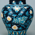 Jar. china, shanxi or henan province; ming period (1368-1644), late 15th century (probably hongzhi era, 1488 - 1505)