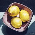 Peinture | citrons | huile sur toile | 20 x 20 cm