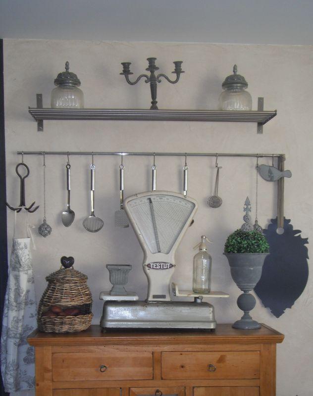 balance testut chin e gris antique. Black Bedroom Furniture Sets. Home Design Ideas