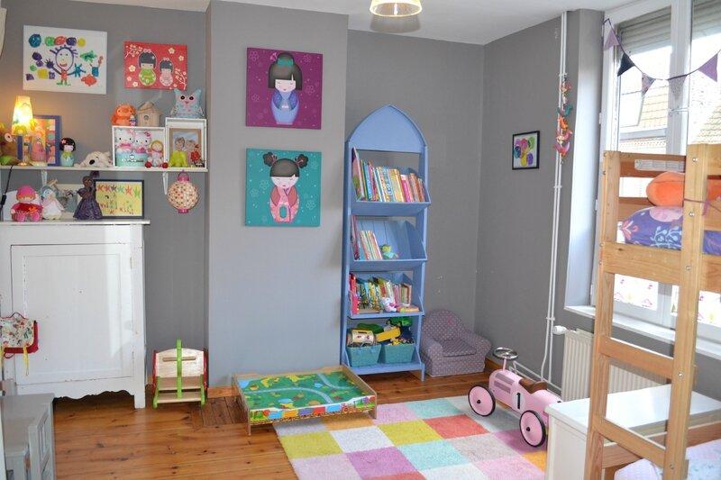 Des changements dans les chambres la t te dans les toiles - Ma fille ne veut pas dormir seule dans sa chambre ...