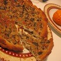 quiche hante aux mousserons de la mort