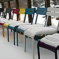 Magnifiques paysages sous la neige ...