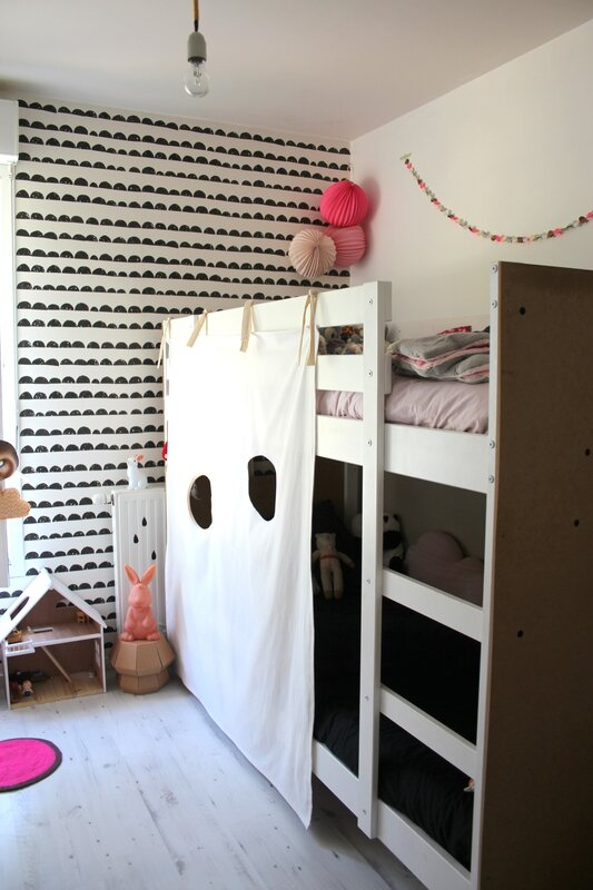diy la cabane pour lit superpos emilie sans chichi. Black Bedroom Furniture Sets. Home Design Ideas