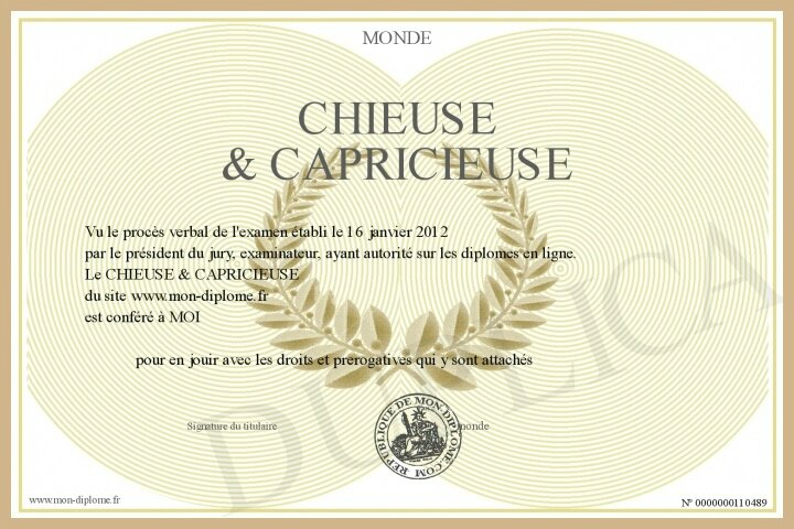 700-110489-CHIEUSE & CAPRICIEUSE